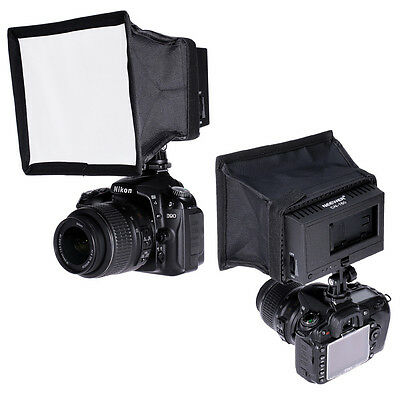 Neewer 5.9x6.7 inches Camera Collapsible Diffuser Mini Softbox for CN-160