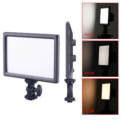 Neewer Ultra Thin 112-LED Dimmable Video Light Pad f DSLR Camera Camcorder UD#15