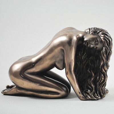 Suggest Naked Figure Art Deco Naked Sculpture Bronze Erotic Statue Sexy 01360