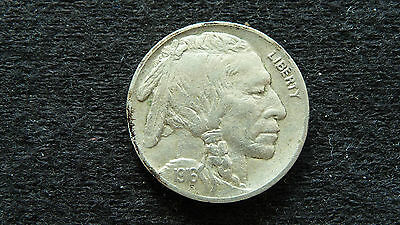 1916-P Buffalo Nickel In Extra Fine Condition E-6-15 (See Pictures)