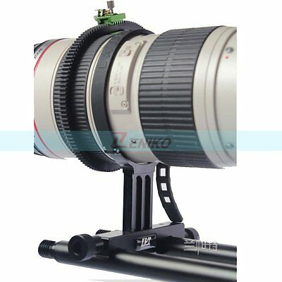 Lanparte TS02 Prime Tele Lens Support for Prime Zoom Lens 15mm Rod Quick release