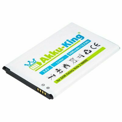 Akku-King Akku für Samsung Galaxy Note 3 N9005 N9002 N9000 - B800BE 3200mAh