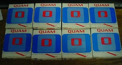 New lot of 8 Quam speakers 30A05Z45 - 60 day warranty