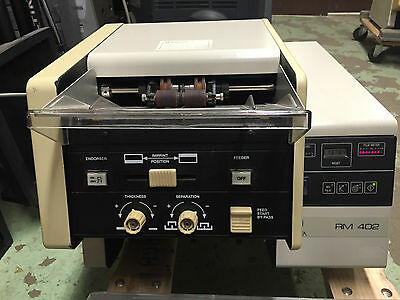 MINOLTA RM 402 Duplex Rotary Check and Document Filmer