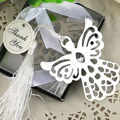 10× Guardian Angel Bookmark Christening Wedding Party Favour Gift Holy Communion