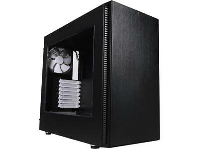 Fractal Design Define S Black Window Silent ATX Midtower Computer Case