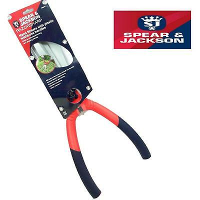 Spear And Jackson Hand Shears With Plastic Handle - Shrub Hedge Cutting Cb35