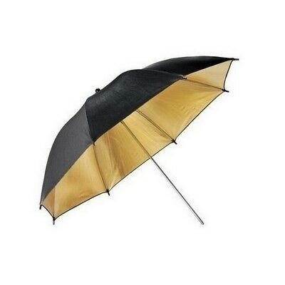 "High Quality 36"" 91cm Gold Reflective Lighting Umbrella Studio Light Control"