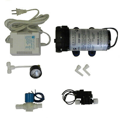 Aquatec CDP 8800 booster pump SET+ solenoid valve, pressure switch, RO Water,NEW