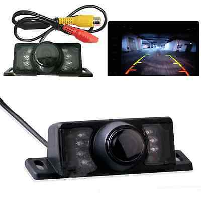 7 IR LED Waterproof Car Rear View Reverse Backup Parking Camera Night Vision Kit