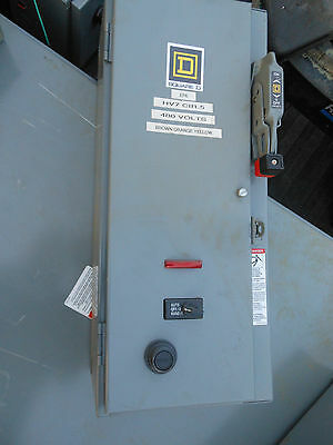 Square D Combination starter disconnect sz 1 fused 8538SCG14V81CFF4P1TX11