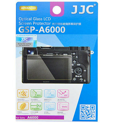 JJC GSP-A6000 Optical GLASS LCD Screen Protector Film for Sony A6000 A5000 A6300