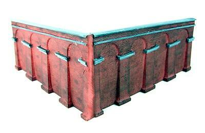 Rare Retired New Packeted Hornby Lyddle End N8706 Retaining Walls Pack Slope 2