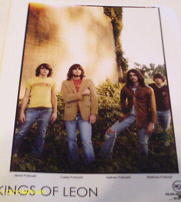 Kings Of Leon Color Publicity Photo