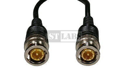 Jumper Patch Cable Coaxial [3 ft] BNC Gold-Plated 50 ohm (#990-010)