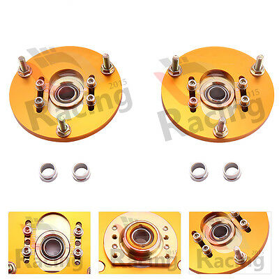 Camber Plate for BMW E46 98-05 320 323 325 328 M3 Front Coilover Top Mount ljr