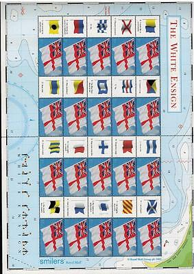 Stamps Generic Smilers Sheet Ls25 2005 White Ensign