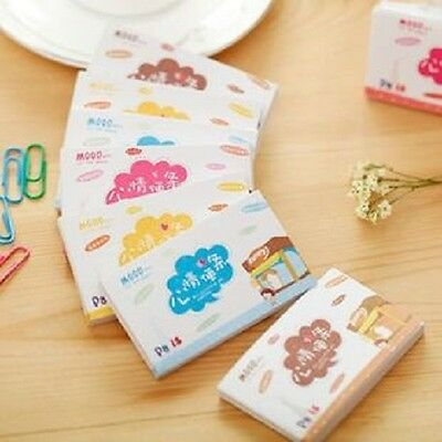 12 PACKS lovely mini Cartoon mood note pads,memo pad,Instructions Post Notes.