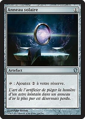 ▼▲▼ Anneau solaire (Sol Ring) Commander 2013 FRENCH Magic▼▲▼