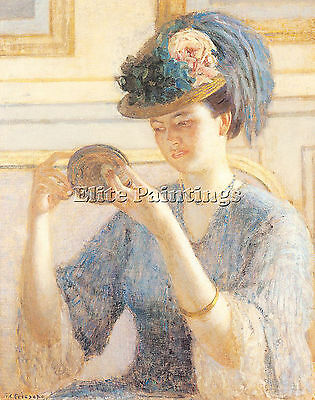 Frieseke8 Artist Painting Reproduction Handmade Oil Canvas Repro Wall Art Deco