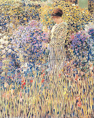 Frieseke15 Artist Painting Reproduction Handmade Oil Canvas Repro Wall Art Deco