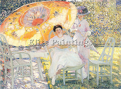 Frieseke12 Artist Painting Reproduction Handmade Oil Canvas Repro Wall Art Deco