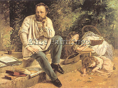 Courbet18 Artist Painting Reproduction Handmade Oil Canvas Repro Wall Art Deco