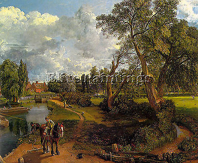 Constable12 Artist Painting Reproduction Handmade Oil Canvas Repro Wall Art Deco