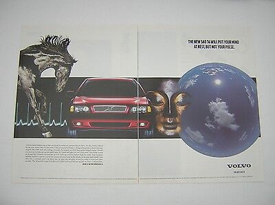 Volvo S40 T4 Advert from 1998 - Original