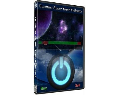 Quantina Super Trend Indicator, Use It With a Forex Robot as Fx Trading System