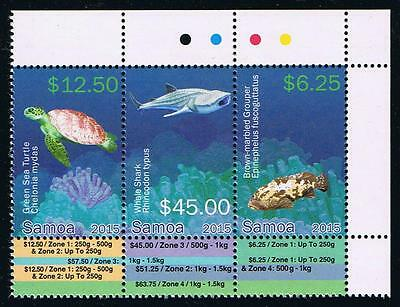 Samoa - Marine Life Definitives Part 3 Postage Stamp Issue