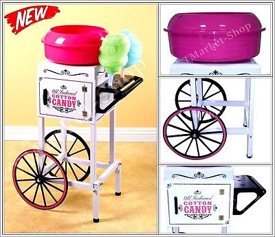 Top Quality Commercial Cotton Candy Cart Spins Sugar Floss Nostalgia Electrics