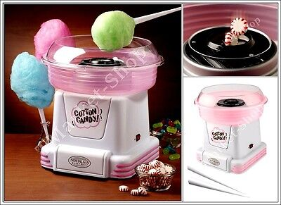 Candy Floss Machine Pink Nostalgia Electrics Cotton Candy Sugar Maker Countertop