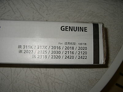 Canon NP-G28 genuine black toner to suit IR models
