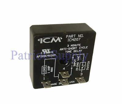 Icm207 Delay On Break Timer Universal Voltage Operation