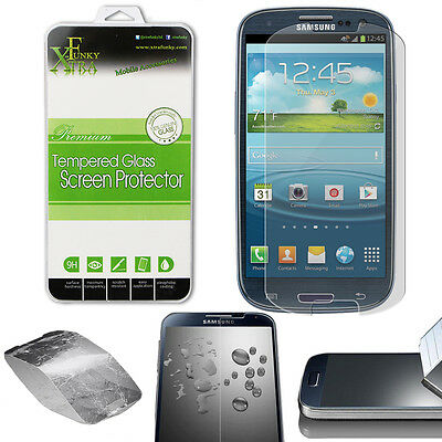 Real Tempered Glass Film Lcd Screen Protector For Samsung Galaxy S3