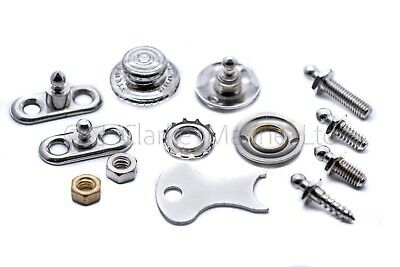 """Tenax fastener """"Made in England"""" button 2ba woodscrew classic car cover hood mg"""