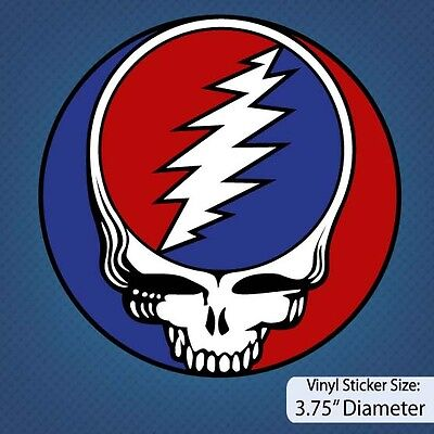 Grateful Dead / Rock / Band / Version A / Decal / Vinyl Sticker