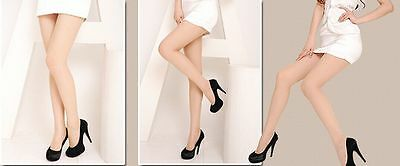 Ladies Super Thin Semi Hyaline Sheer Tights Pantyhose Stockings Socks Full Foot