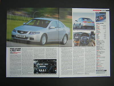 Honda Accord - First Look Article from 2002 - 2.0 2.4