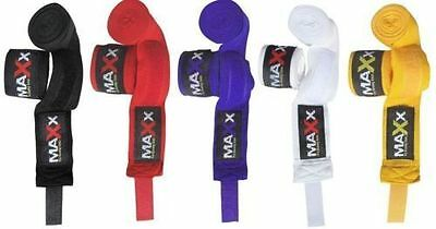 New Hand Wraps Bandages Gloves MMA Boxing Mexican Punch Bag Muay Thai Inner MAXX