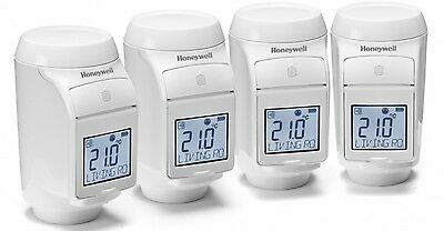 Honeywell evohome Radiator Multi Zone Kit Inc. 4 Radiator Controllers
