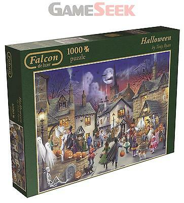 Falcon De Luxe Halloween Jigsaw Puzzle 1000 Pieces - Toys Brand New