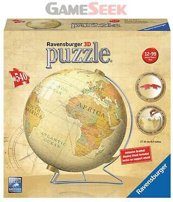 Vintage Globe 3D Puzzle - Games/puzzles Puzzles Brand New Free Delivery