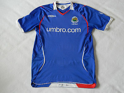 Linfield Fc Irish League Northern Ireland Home Shirt   ,mens Small