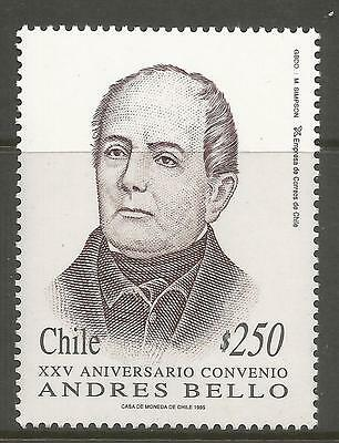 CHILE. 1995. Andres Bello Commemorative. SG: 1624. Mint Never Hinged.