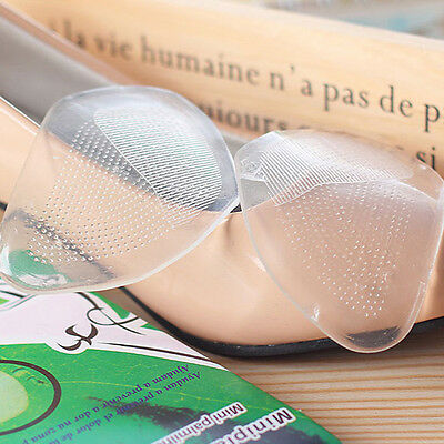 3 Pairs Shoes Insoles High Heel Silicone Gel Cushion Front Pad Feet Foot Care