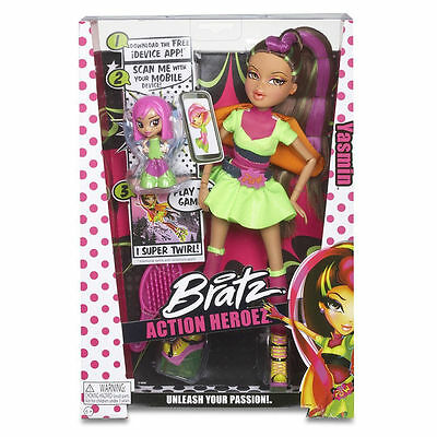 Bratz Action Heroez Yasmin Doll with Accessories & Mini Doll  NEW IN BOX!
