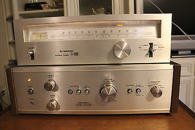 Pioneer SA-5200 Amp w/ orig. box and TX-5500 II Tuner, Exc. Cond.