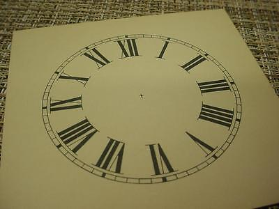 "Vintage Replacement  2-3/4"" Alarm Novelty Clock Roman Numeral Dial ZZ108c"